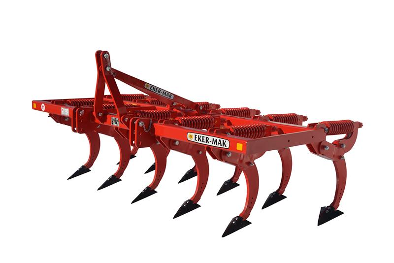 tarım makineleri Baskı Yaylı Kültivatör